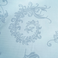 Quality 60-90gsm Pure White Quilting Fabric Polyester Tricot Fabric Shrink Resistant for sale