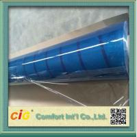 Quality Packing Bag Light Blue Clear Transparency Film PVC Waterproof for sale