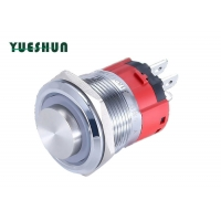 Quality Heavy Duty Waterproof 22mm Momentary Push Button Light Switch for sale