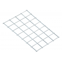 Quality 1x1 Inch Galvanized Welded Wire Mesh , Galvanised Steel Mesh Panels Square Hole for sale
