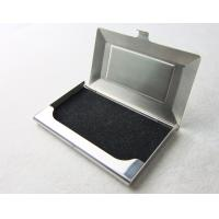 Quality Stainless Steel Custom Business Card Holder For Woman And Man Collection for sale