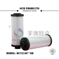 Quality 20 Micron Liquid Filter Cartridge High Performance Pleated ABS Plastic End Cap for sale