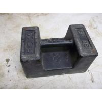 Hardware & Locks>Scales 30# Cast Iron R & S Scale Test Weight Block with Hand Grip Make In China
