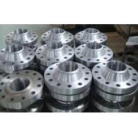 Quality ASME B16.5 Material A182 Gr.  F1 welded neck steel pipe flange for sale
