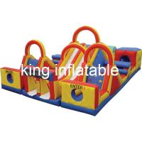 Quality Kids And Adults Big Commercial Inflatable Water Slide With 2years Warranty for sale