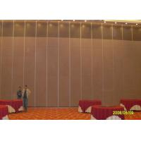 Quality Hotel Sliding Partition Walls , Folding Wall  Sound Proof Door No Floor Track for sale