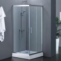 Quality Corner entry double shower sliding door, 6/8mm tempered glass for sale