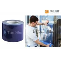 Quality Blue Color Window Glass Protection Film 200 Meter Length Thickness Customized for sale