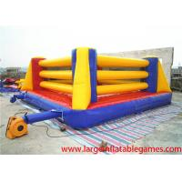 Buy Exciting Inflatable Sport Games Bouncy Boxing Ring For Teenagers Games at wholesale prices