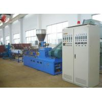 Quality PET waste plastic recycling machine Co - rotation Parallel Twin screw for sale