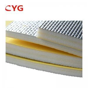 Quality Rigid extruded foam sheet Pe Foam Aluminum Foil Roll for sale