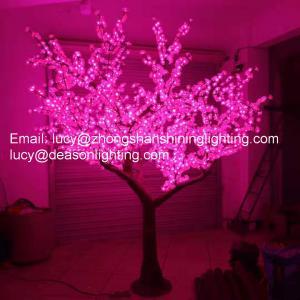 Quality Led artificial plum blossom tree light for sale