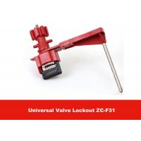 Quality 327G Red Security Remote Controal Universal Valve Lockout with Single Arm for sale