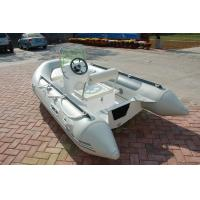 Buy cheap PVC 5 Person Inflatable Boat For Fishing , 330m Jockey Console Marine Inflatable Boat from wholesalers