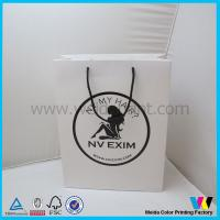Hair extension packaging bag , Personalised paper gift bags with Logo Printed