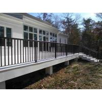 Quality High Durability Iron Balcony Railing Low Maintenance For Outdoor Villa for sale
