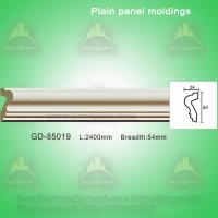 Quality European style Environmental Decorative PU Plain Panel mouldings for sale
