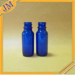 wholesale 1/2oz 15ml blue boston round bottle with screw top