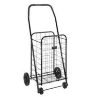 Quality Folding Rolling Supermarket Shopping Carts, grocery cart collapsible shopping cart 4 Wheel for sale