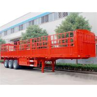Quality 40T 45T 40 Ft Semi Trailer , 3 Axle Container Semi Trailer For Warehouse / Storehouse for sale