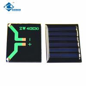 China 3V high efficiency sunpower solar panel for solar powered dancing toys 0.15Watt ZW-4030 cheap Mini Solar Panels on sale