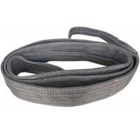 Quality Grey Color Polyester Flat Webbing Sling Duplex Layer Lifting Sling Tool for sale