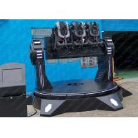 Buy cheap Cinema 9D VR Roller Coaster , Electric Platform 9D Vr Simulator For Outdoor from wholesalers