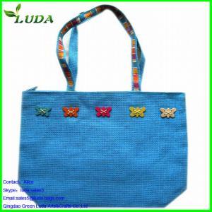 Quality cheap wholesale chevron beach non woven tote bags for sale