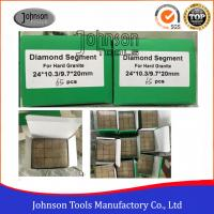 Quality 2000mm Sandwich Diamond Segments For Harder Granite  High Efficiency for sale