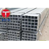 Quality ASTM A213 A106 A53 Galvanized Square Rectangular Steel Pipe GI Steel Tube for Fluid Pipe for sale