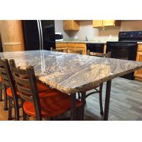 """37"""" X 96"""" Granite Stone Kitchen Countertops With Bullnose Edges , Grey Color"""
