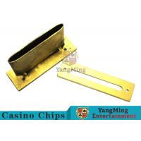 Quality Roulette / Blackjack Poker Game Accessories Slot Cover Installed On The Table for sale