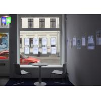 Quality Window Display Magnetic Light Box For Real Estate , Crystal Led Hanging Light Box for sale