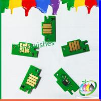 Quality refillable cartridge chip for Canon IPF605 IPF705 large format printer chip for sale