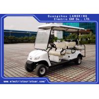Quality Professional Electric Club Car 6 Passenger Front 4 Seater Plus Rear 2 Seats for sale