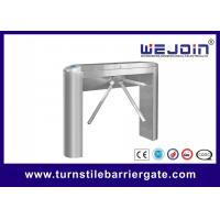 Quality RS232 Communication Access Control Turnstile Gate Die - Casting Alloy Aluminum for sale