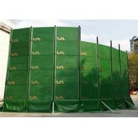 Quality Temporary Sound Barriers Wall Customized Dimension Noise Absorption and Reduction 27dB 40dB for sale