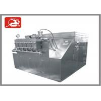 Quality Hydraulic automatic type large capacity High Pressure Homogenizer 20000 L/H 200 KW for sale
