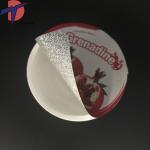 Quality China Factory Die out aluminium foil lids,  Die cut foil seals for PP/PS/PE cups for sale