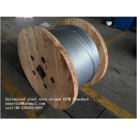 7/3.05mm, 7/3.45mm, 7/4.0mm, 19/1.8mm, 19/2.3mm. Stranded Galvanized Steel Wire (GSW)