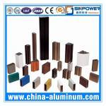Quality AA6063-T5 Powder Coating Aluminium Window Profiles (Alu Profile) for sale