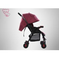 Quality Rotatable Wheels Baby Sport Strollers All Weather Adaptation With Canopy for sale