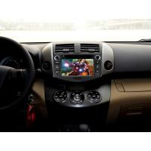 China Toyota RAV4 Car DVD Sat Nav , HD Car Stereo Sat Nav DDR 3 1G on sale