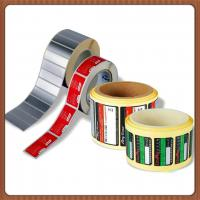 Quality Waterproof Printable Adhesive Labels , Color Printed PVC Plastic Sticker Sheet for sale