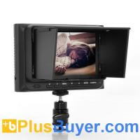 Quality On-Camera 5 Inch DSLR Monitor (HDMI, 1920x1440, 500:1) for sale