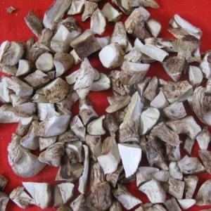 Quality Air-Dired Champignon Mushroom Umbrella/Stem Cubes(D) for sale