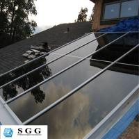 China Skylight canopy stair handrail balcony balustrade architectural safety glass processing fa on sale