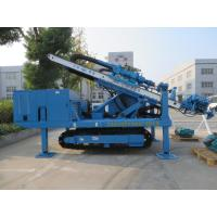 Buy cheap High Impact Frequency Anchor Drilling Rig Hydraulic System High Power Virbration Foundation from Wholesalers