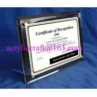 Quality 2016 high quality acrylic / plexiglass / PMMA picture frame with screw for sale