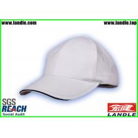Buy White Velcro Closure 100% Cotton Kids Baseball Hat Metal Strap Old Style at wholesale prices